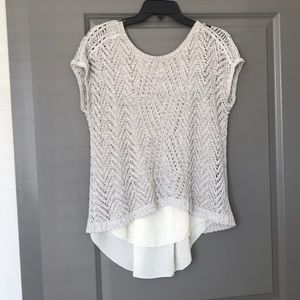 Lucky Brand Layered Lace Top